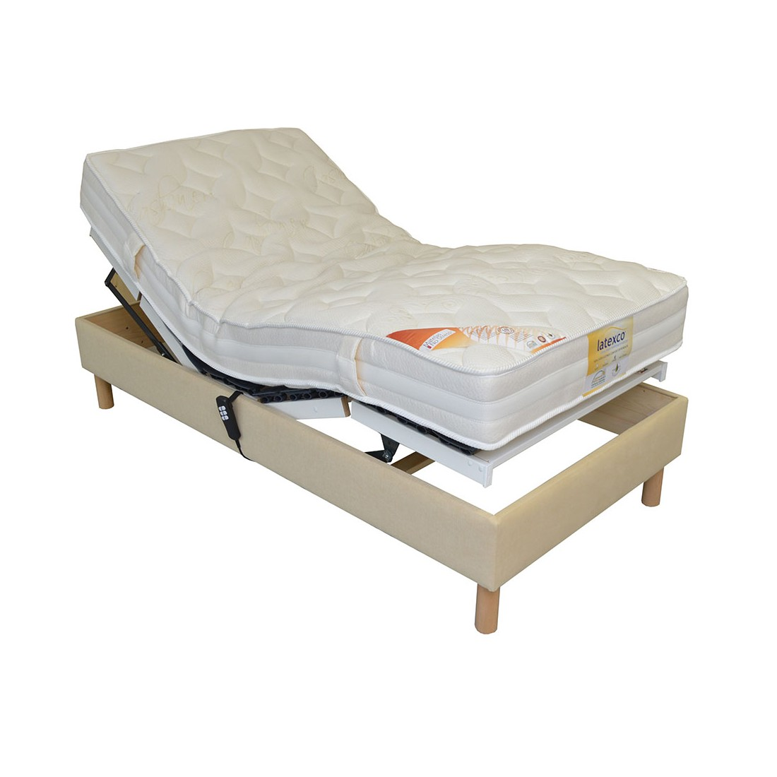 matelas 80x200 pour lit electrique matelas sommier 2 x 80. Black Bedroom Furniture Sets. Home Design Ideas