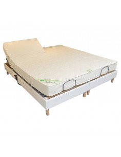 matelas de relaxation duo ou bi t te 140x190. Black Bedroom Furniture Sets. Home Design Ideas