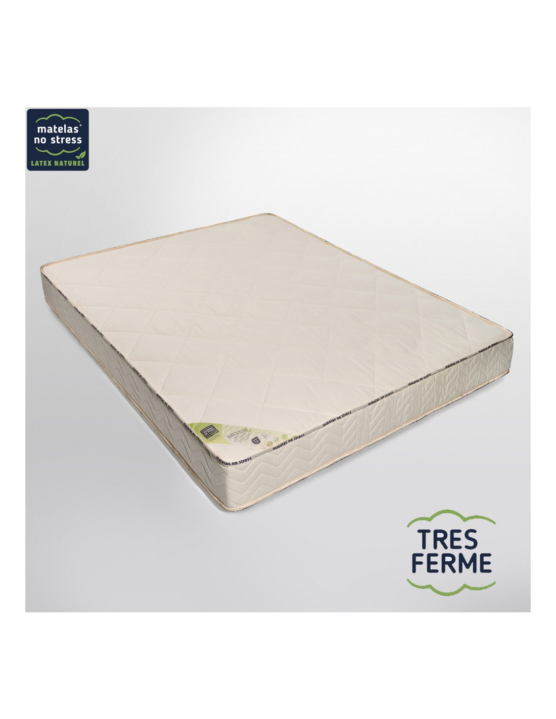 matelas latex naturel 140x200 bio nergie tr s ferme 21 cm. Black Bedroom Furniture Sets. Home Design Ideas