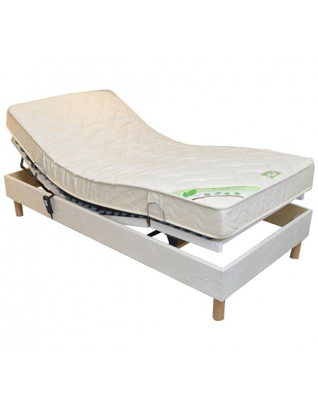 Matelas latex naturel 120x200 Bio Charme médium 14 cm