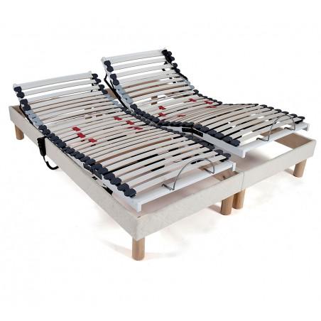 Sommier 90 x 200 lit electrique de relaxation