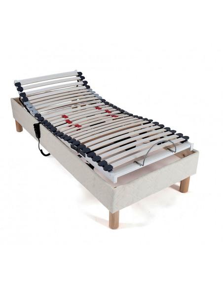sommier 70x190 lit electrique de relaxation - Sommier Lit