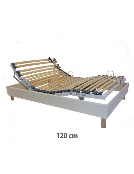 Sommier électrique de relaxation 120x190