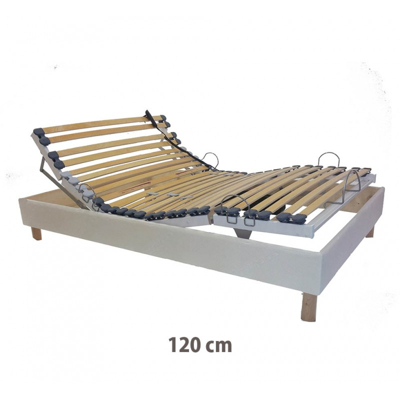 Sommier électrique de relaxation 120x200