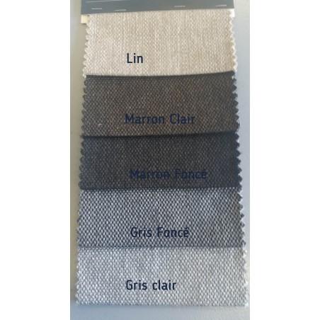 Sommier lit electrique de relaxation habillé tissu personnalisable 70x200