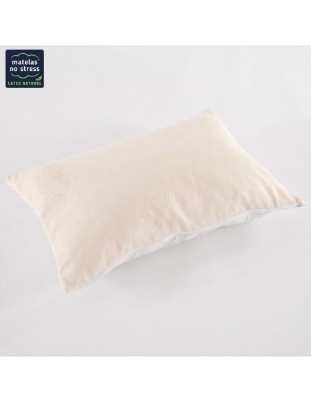 Oreiller 50x70 latex naturel et laine