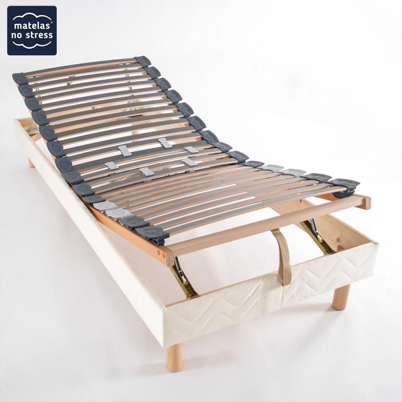Sommier Manuel De Relaxation Dimensions 70x190 Cm