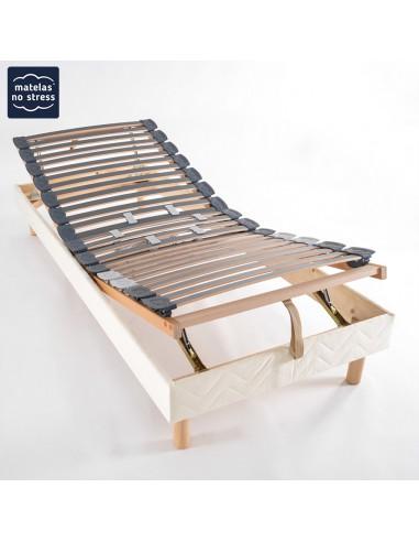 Sommier manuel de relaxation 80x190
