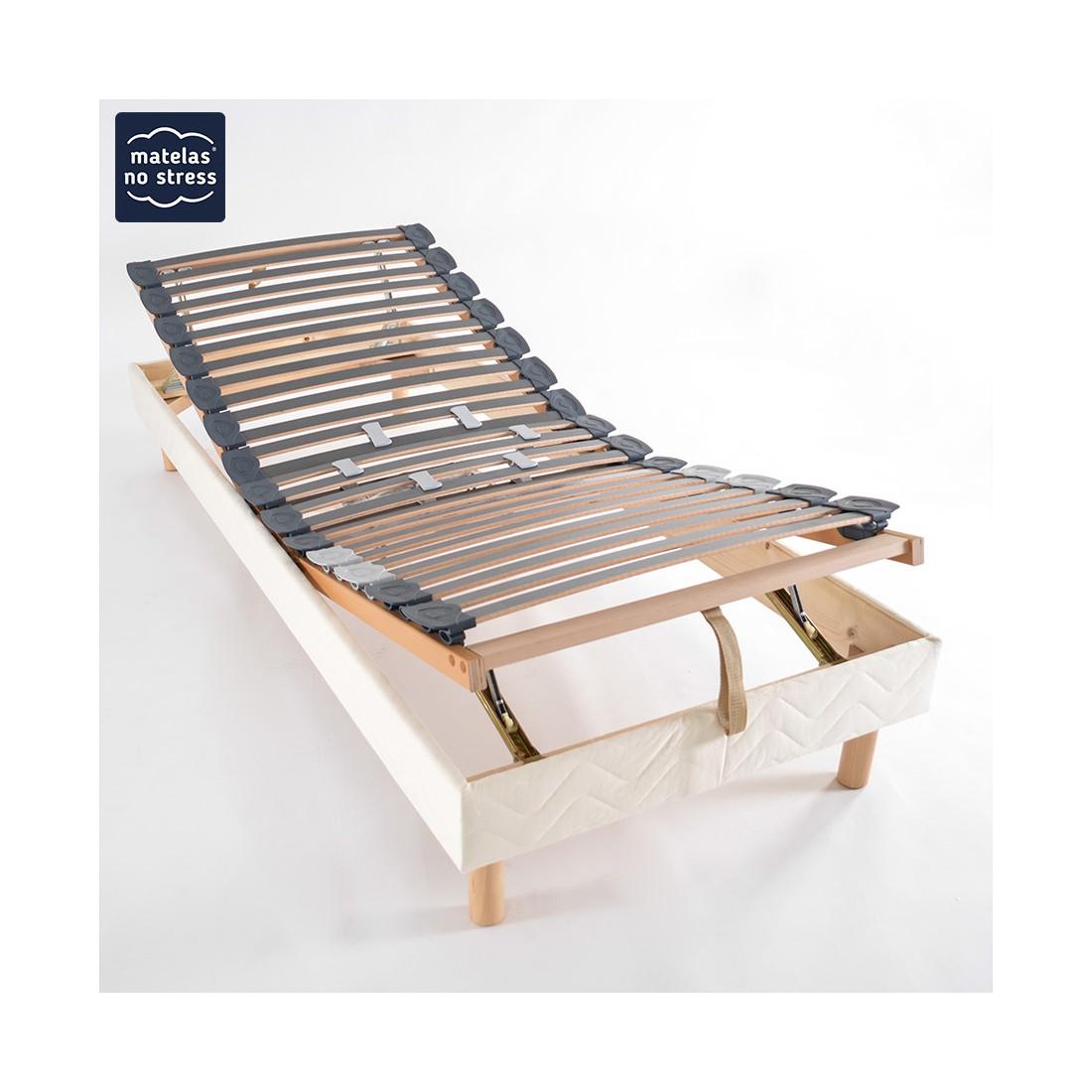 sommier manuel de relaxation 80x200 matelaslatex. Black Bedroom Furniture Sets. Home Design Ideas