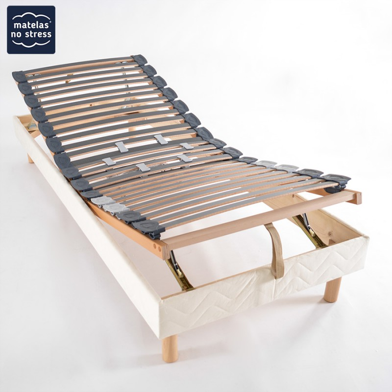 Sommier manuel de relaxation 90x190