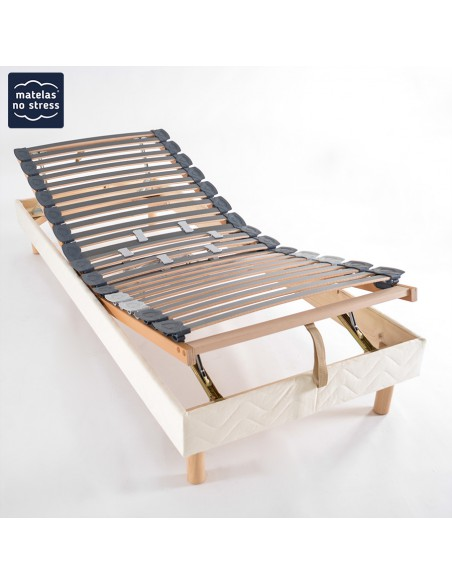 Sommier manuel de relaxation 120x190