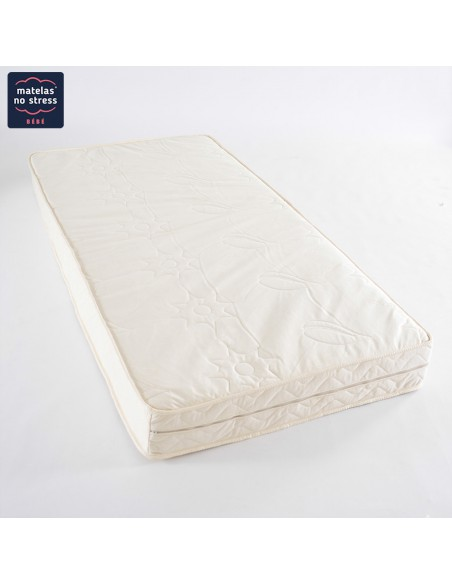 Matelas Bio 90x190 Latex Naturel Ideal Enfant Dehoussable