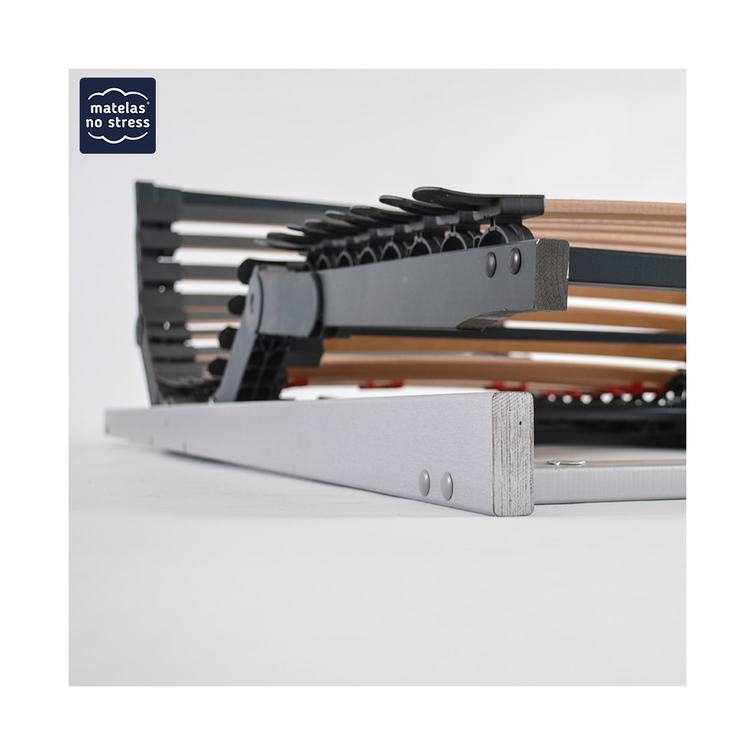 sommiers lectrique 2x90x200 pour literie 180x200 encastrable. Black Bedroom Furniture Sets. Home Design Ideas