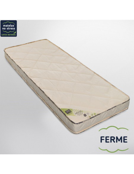 matelas latex naturel 160x200 bio charme m dium 14 cm. Black Bedroom Furniture Sets. Home Design Ideas