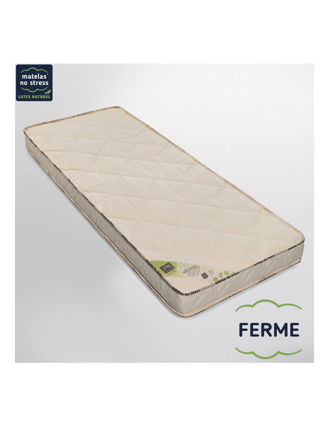 matelas latex naturel 160x200 bio charme m dium 14 cm. Black Bedroom Furniture Sets. Home Design Ideas