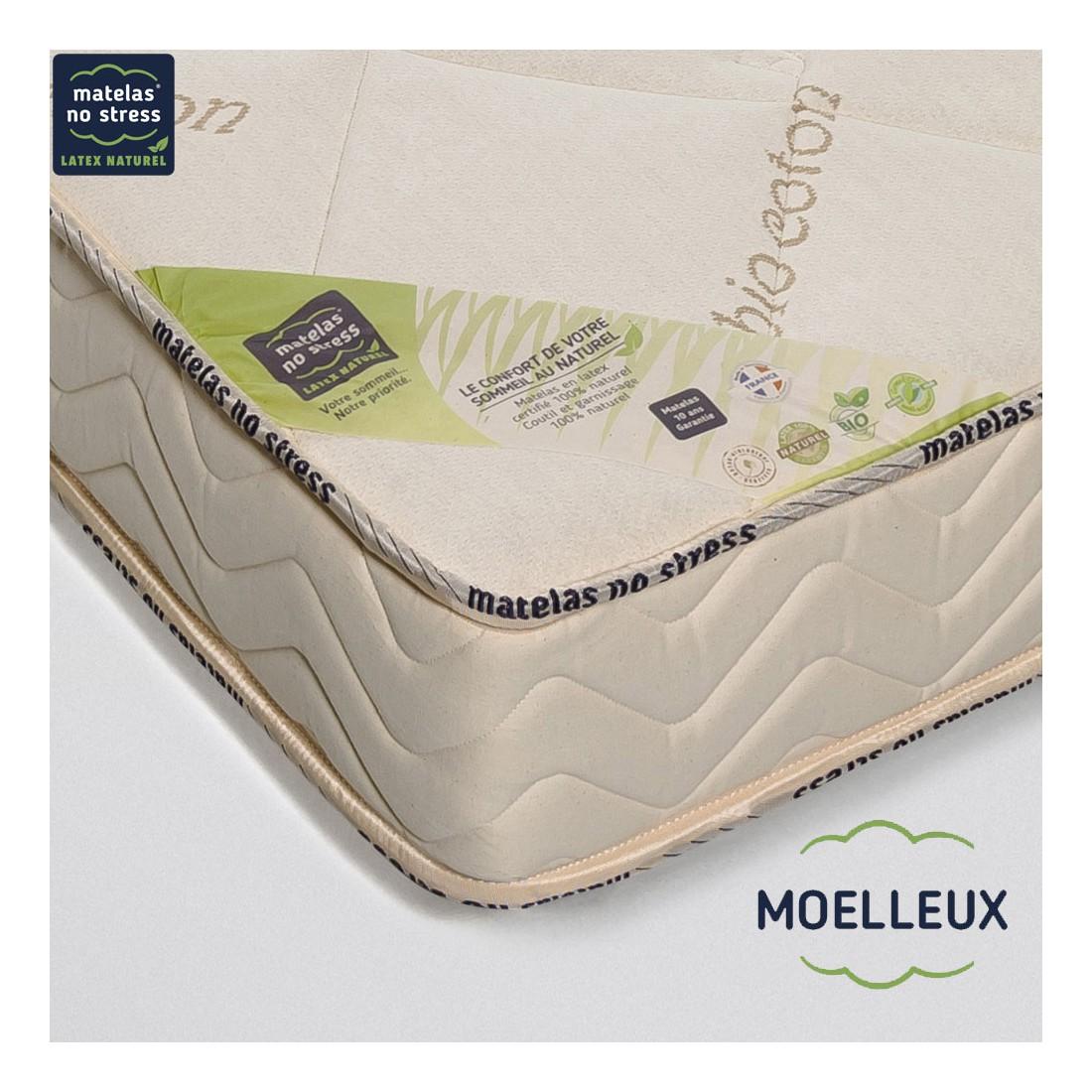 matelas latex naturel 90x200. Black Bedroom Furniture Sets. Home Design Ideas