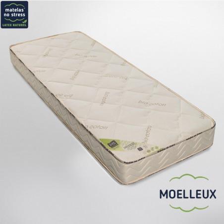 Matelas bio GRAND CONFORT MOELLEUX 100x200 18 cm