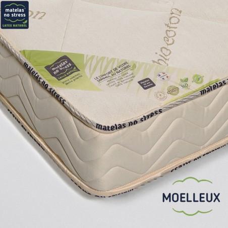 Garantie de notre Matelas bio GRAND CONFORT MOELLEUX 100x200 18 cm