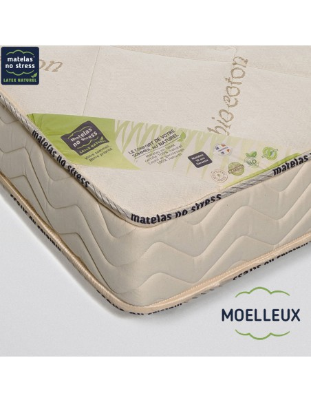 Garantie de notre Matelas Moelleux Élégance 100+100x200 en 18 cm