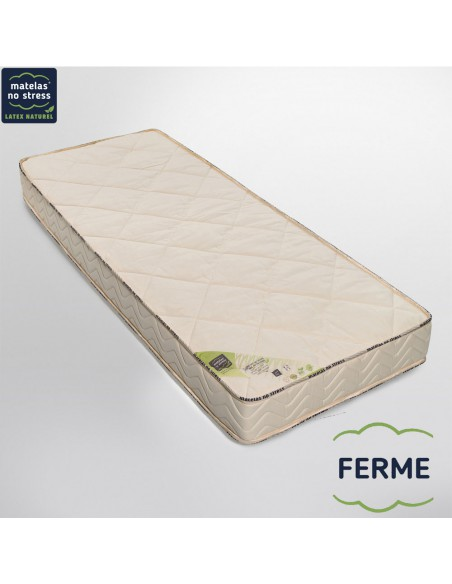 matelas latex naturel 90x190 ferme. Black Bedroom Furniture Sets. Home Design Ideas