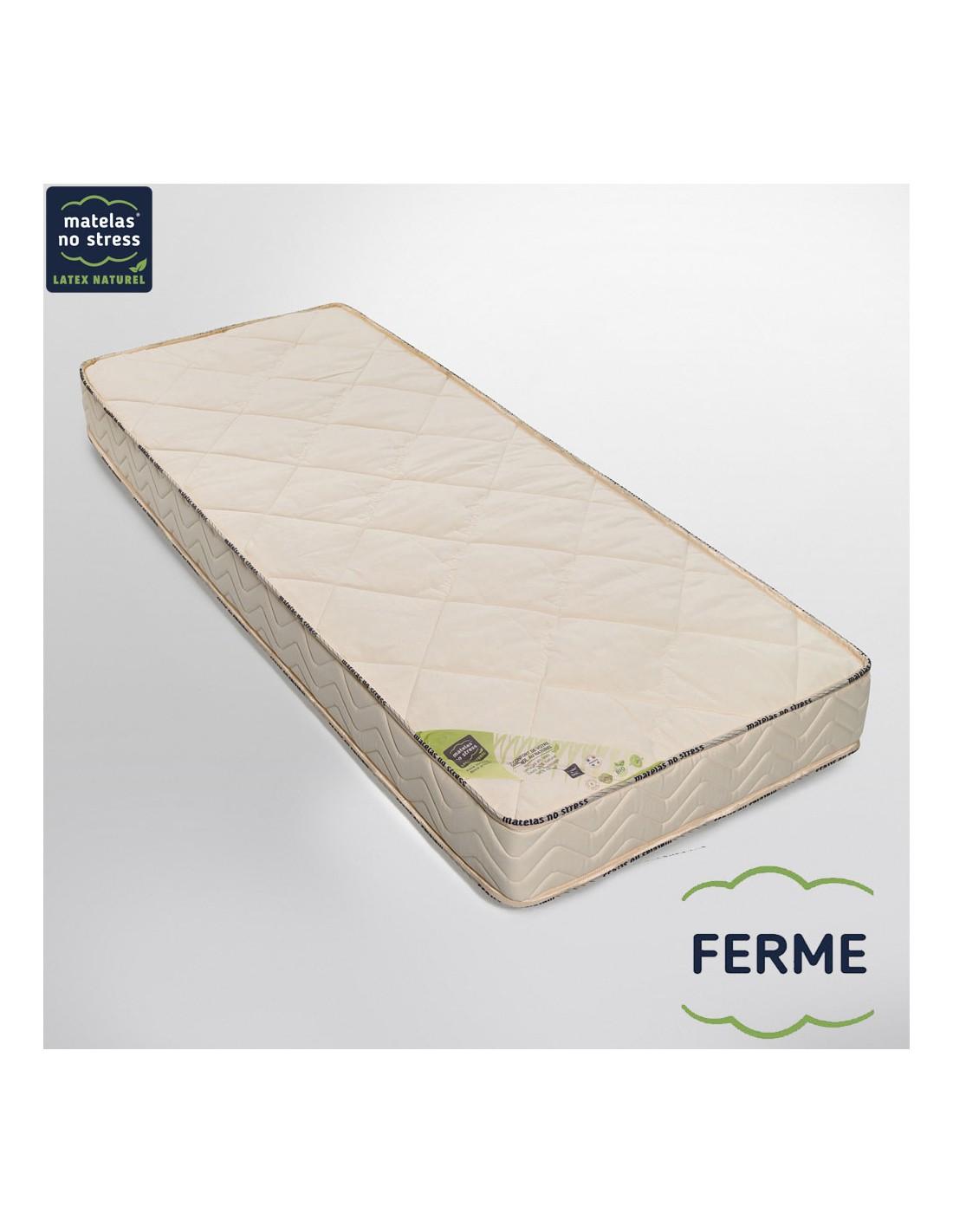 matelas bio latex naturel 100 x 200 l gance ferme 18 cm. Black Bedroom Furniture Sets. Home Design Ideas
