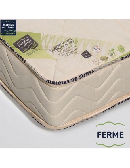 garantie de notre Matelas bio GRAND CONFORT FERME 100x200 18 cm