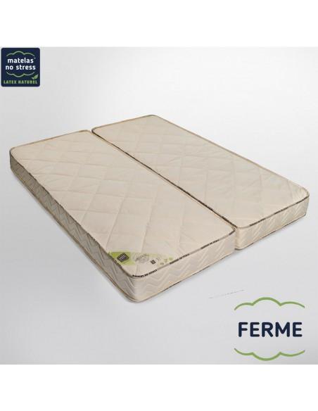 Matelas Ferme Élégance 100+100x200 en 18 cm