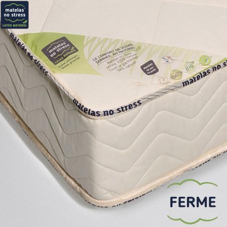 Garantie du matelas bio latex naturel ferme haut gamme écologique
