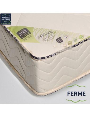 garantie de notre Matelas bio HAUT DE GAMME FERME 100x200 21 cm