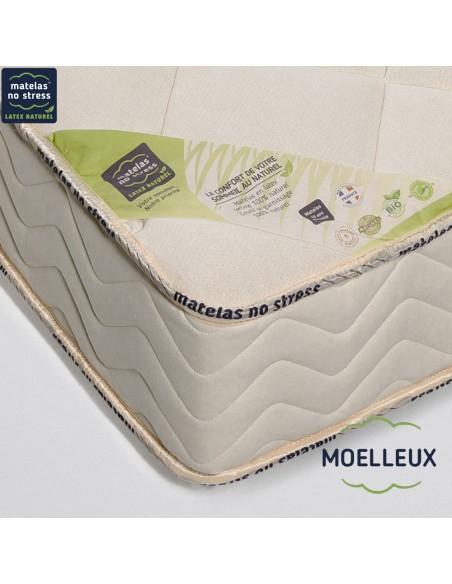 Garantie de notre matelas bio latex naturel moelleux haut gamme écologique
