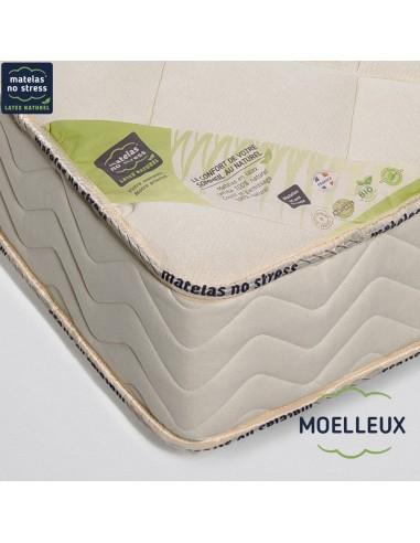 Matelas moelleux Privilège 70+70x200 en 21 cm