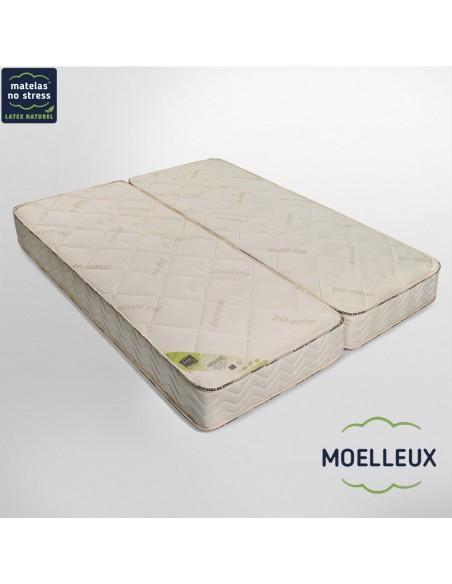 Matelas moelleux Privilège 80+80x190 en 21 cm