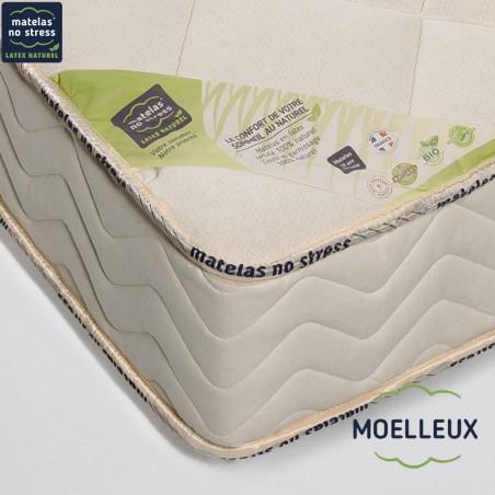 Garantie de notre Matelas moelleux Privilège 80+80x200 en 21 cm