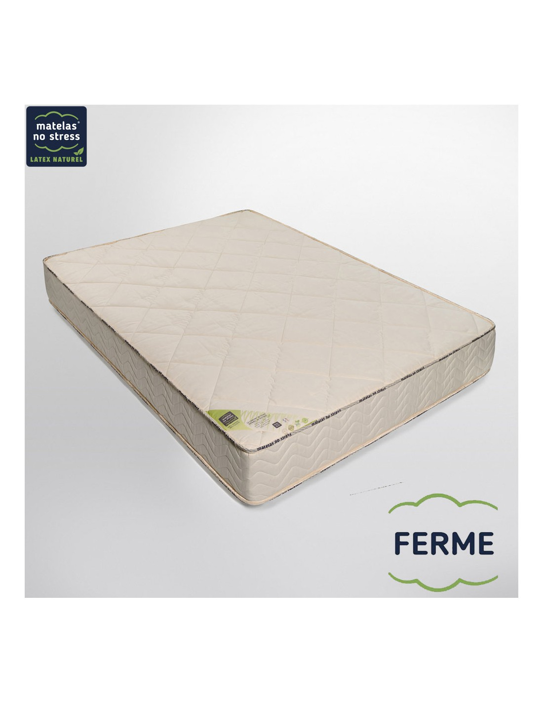 matelas latex bio naturel 140x200 prestige ferme 24 cm. Black Bedroom Furniture Sets. Home Design Ideas