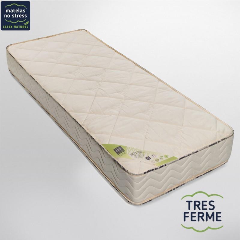 matelas latex naturel 90x190 bio nergie tr s ferme 21 cm. Black Bedroom Furniture Sets. Home Design Ideas