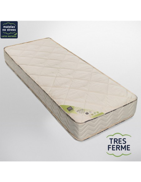 matelas latex naturel bio 90x200 nergie tr s ferme 21 cm. Black Bedroom Furniture Sets. Home Design Ideas