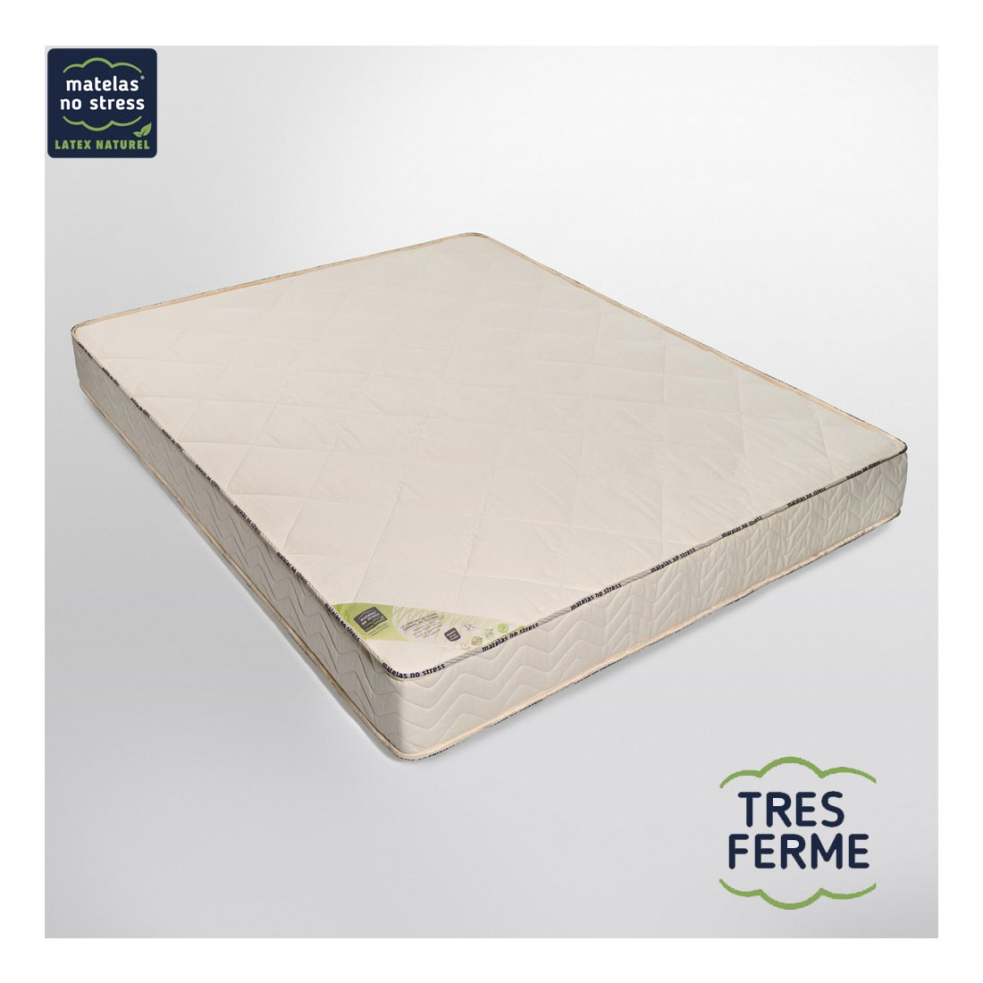 matelas latex naturel 160x200 tr s ferme. Black Bedroom Furniture Sets. Home Design Ideas