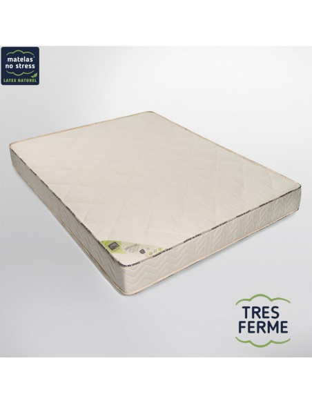Matelas Latex Naturel 200x200 Bio Tres Ferme 21 Cm