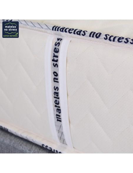 présentation des poignées du matelas bio latex naturel moelleux haut gamme écologique