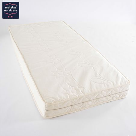 Matelas Bio latex naturel Déhoussable 90x200