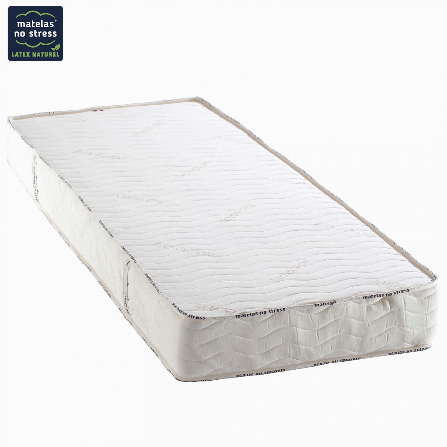 le matelas latex v g tal 100 naturel dimension du matelas 70x190. Black Bedroom Furniture Sets. Home Design Ideas