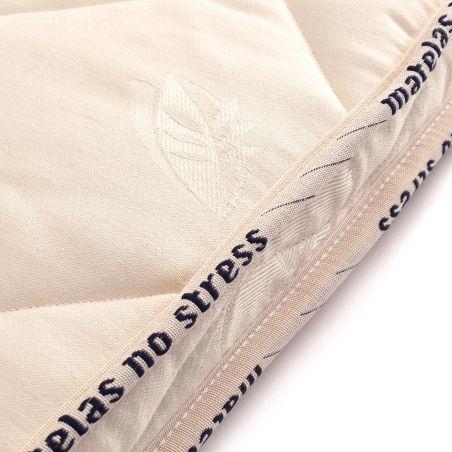 Matelas couffin ovale bio fibres de coco sa finition