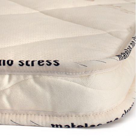 La finition de notre Surmatelas 90x200 latex naturel