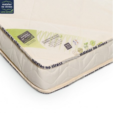 Matelas 70x140 latex naturel detail