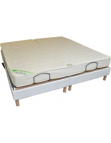 Matelas Bio Latex De Relaxation 160x200 Bi Tete Naturel Elegance