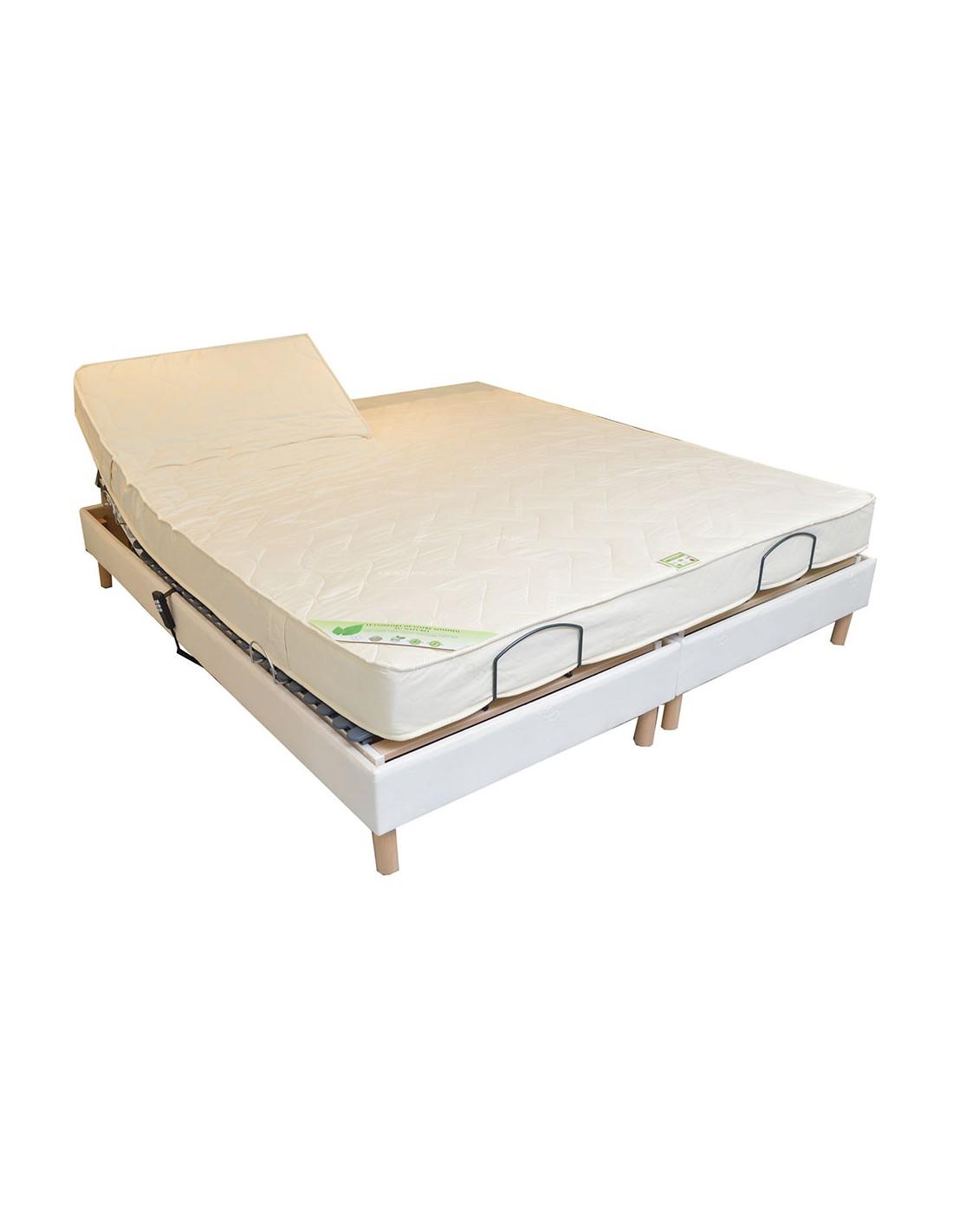 matelas bio latex de relaxation 160x190 bi t te naturel l gance ferme 18 cm. Black Bedroom Furniture Sets. Home Design Ideas
