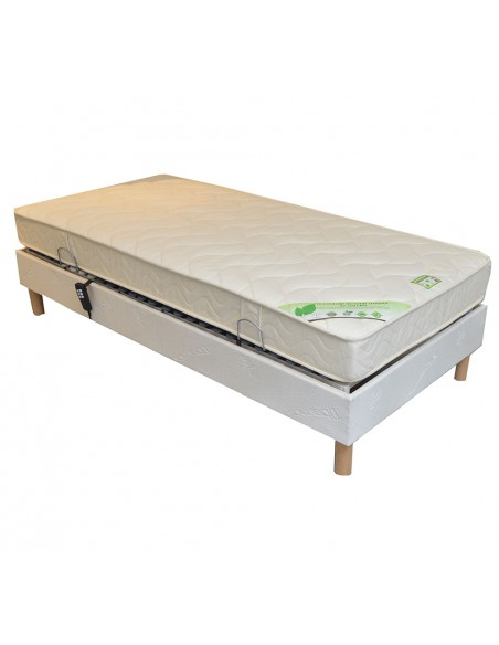 Matelas latex naturel 120x190 Bio Charme médium 14 cm
