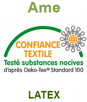 Ame en Latex Naturel oekotex