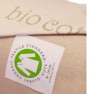 le coutil bio coton en maille Gots certifié